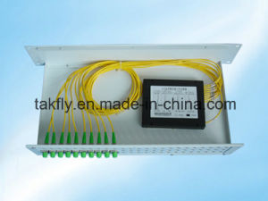 Nice Price 1310/1490/1550nm 1X8 Optical Splitter pictures & photos
