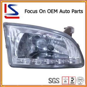 White Crystal LED Head Lamp for Starlet Ep 90′96 pictures & photos