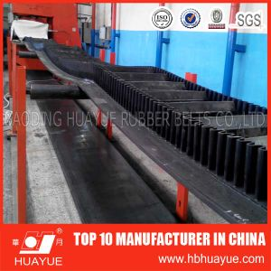 Ep630/4 Rubber Sidewall Cleat Conveyor Belt pictures & photos
