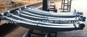 Parabolic Leaf Springs for Heavy Trucks pictures & photos