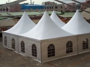 6x6m pagoda tent, party tent, garden tent pictures & photos