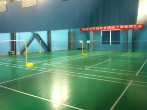 Bwf Certificate High Quality PVC Sports Flooring Used to Badminton Court 4.5mm/5mm Thickness pictures & photos