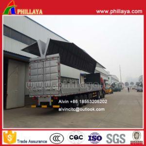 Aluminum Alloy Cargo-Box Wingspan Van Semi Trailer pictures & photos