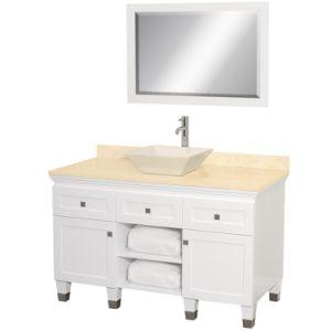 "Premiere 48"" Wood Bathroom Vanity Set - White pictures & photos"