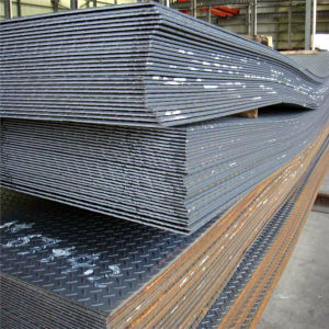 Q235/Ss400 Hot Rolled Steel Checkered Plate pictures & photos
