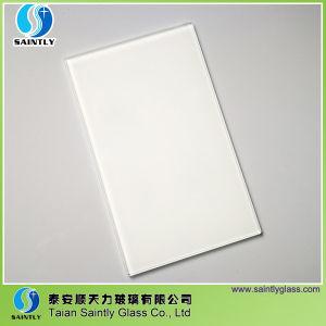 2017 China 4mm White Kitchen Glass Splashbacks pictures & photos