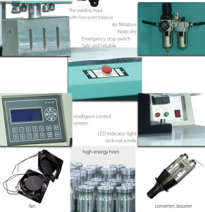 Toden PVC Bottom Cover Ultrasonic Welding Machine pictures & photos