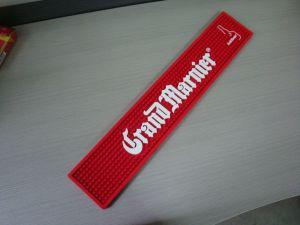 Customized Embossing Logo Soft Flexible PVC Bar Mat, Bar Mat, Rubber Bar Runner, Drink Mat, Beer Mat, Bar Runner pictures & photos