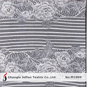 Fashion Floral Lace Fabric for Garment Accessory (M1009) pictures & photos