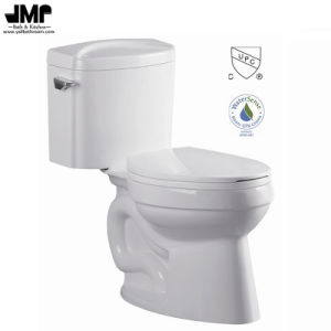 2690 Siphonic Two Piece Wc Bathroom Cupc Single Flush Ceramic Toilet pictures & photos