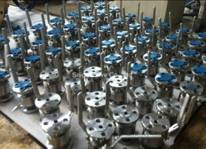 High Temperature and High Pressure Forged Steel Ball Valve pictures & photos