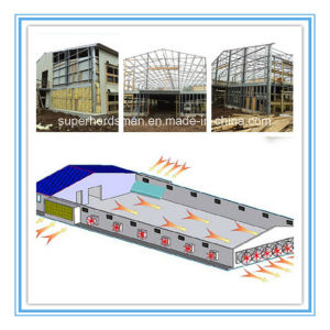 Steel Prefab Chicken House in Poultry Farm pictures & photos