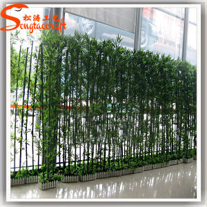 Cheap High Quality Artificial Plastic Fence Bamboo Tree pictures & photos