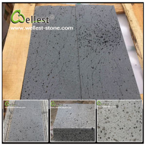 China Natural Bluestone/Basalt/Volcano/Lava Stone Sawncut Tile with Lines pictures & photos