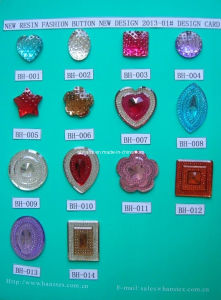 Resin Button (BH-006) pictures & photos
