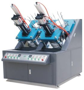 Double Work Units Paper Plate Making Machine