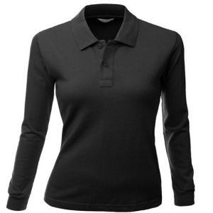 100% Cotton Long Sleeve Polo Shirt pictures & photos