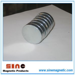 Small Round Magnet/ Grade (N35/ N38/ N40) pictures & photos