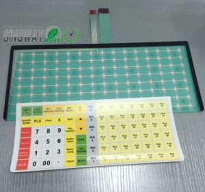 Embossed Membrane Switch in The POS pictures & photos