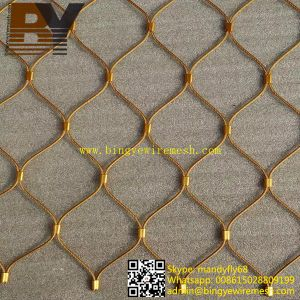 Flexible X-Tend Stainless Steel Cable Mesh for Stairs Balustrades pictures & photos