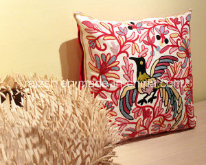 Bohemian Hand-Embroidered Ethnic Embroidery Cushion Pillow Cover pictures & photos