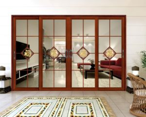 Sliding Door Aluminium Interior Glass Door pictures & photos