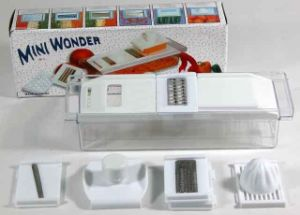 Multi Mini Wonder Vegetable Slicer pictures & photos
