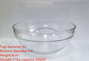 Heat Resistant Old Fashion Glass Bowl Glassware Kb-Hn0183 pictures & photos