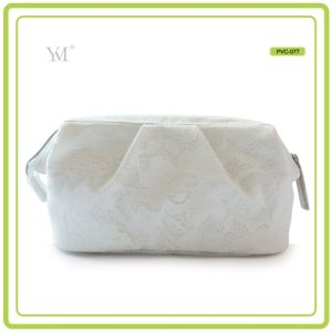 Promotional Wholesale Elegant Fashion PVC Lace Cosmetic Pouch Toiletry Bag pictures & photos