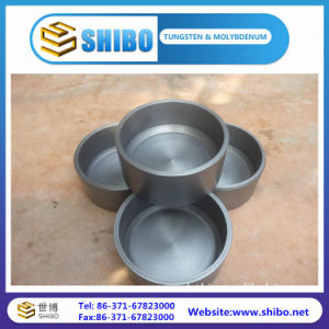 Customer Made Pure 99.95% Moly Crucibles Molybdenum Crucibles pictures & photos