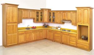 American Solid Wood Beech Ktichen Cabinet pictures & photos