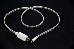 for iPhone 5/5c/5s/6 USB Glowing USB Charge Cable Mobile Phone Accessories