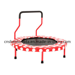 40inch. New Fitness Folded Trampoline with Handrail pictures & photos