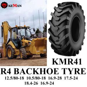 R4 Backhoe Loader Tyre, Agriculture Tyre (12.5/80-18 16.9L-24 16.9L-28 18.4L-26) pictures & photos