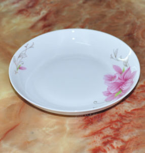 Coupe Dinner Plate, Porcelain Dinnerware Table Plate