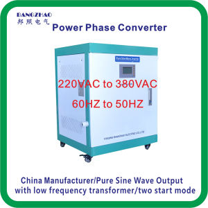 Single Phase 220VAC to Three Phase 415VAC 30000 Watt Power Inverter pictures & photos