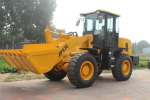 China Cheap 3000kgs Front Hydraulic Loader pictures & photos