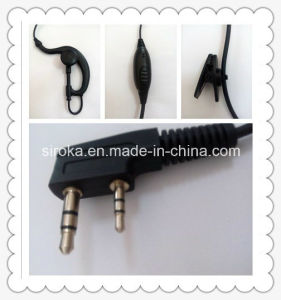 Hot Sale G-Hook Walkie Talkie Earphone with Microphone pictures & photos