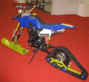 Motorcycle Rubber Track System pictures & photos