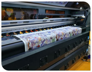 Fd-6194e Dye Sublimation Printer with Printing Ink pictures & photos