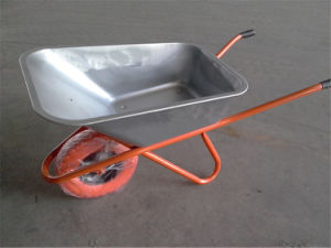 Wb6425g Zinc Plated Wheelbarrow for Russia Market pictures & photos