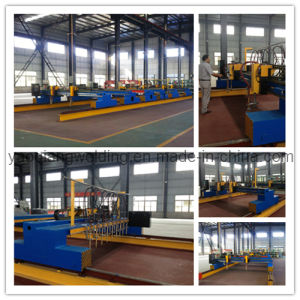 Plasma Flame CNC H Profile Section Steel Cutting Equipment pictures & photos