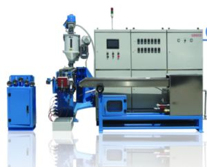 High Precision Fluorine Plastic Two-Color Extruding Machine pictures & photos