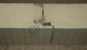 Heat Insulated PU Foam Sandwich Panel pictures & photos