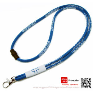 Zipper Lanyard with Client Logo (l-0088) pictures & photos