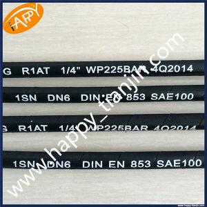 SAE100 R1at 1 Inch Rubber Machine Tool Medium-Pressure Hose pictures & photos