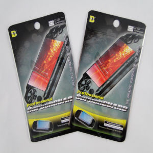 Design Laminated Three Side Sealing Aluminum Foil Screen Protection Bags pictures & photos