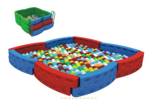 Playground Plastic Ocean Ball Pool with Colorful Balls