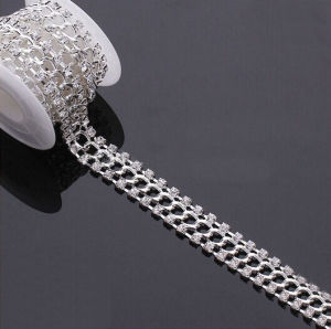 Rhinestone Chain (FGC2040) Crystal Chain Garment Clothing Accessories