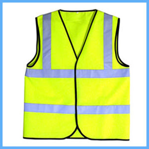 Construction Safety Clothing Reflective Night Working Life Vest pictures & photos